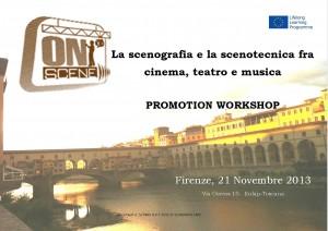 Promotion Workshop_Firenze 21 Novembre 2013